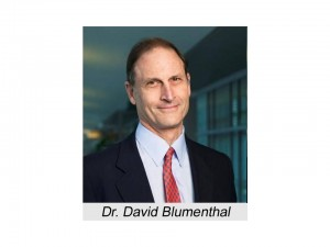 Dr. David Blumenthal, National Coordinator for Health Information Technology